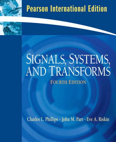 9780132067423: Signals, Systems, and Transforms