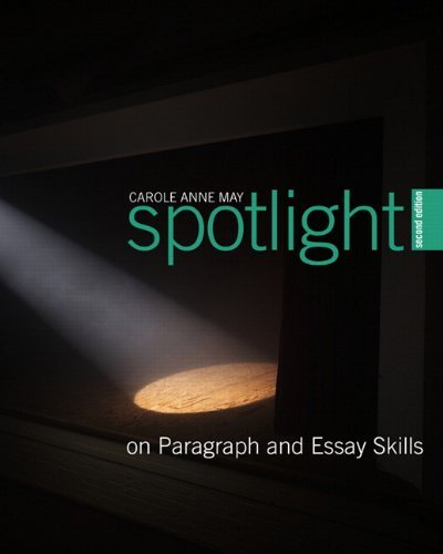9780132068055: Spotlight On Paragraph and Essay Skills