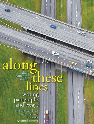 9780132068079: Along These Lines, Third Canadian Edition (3rd Edition)