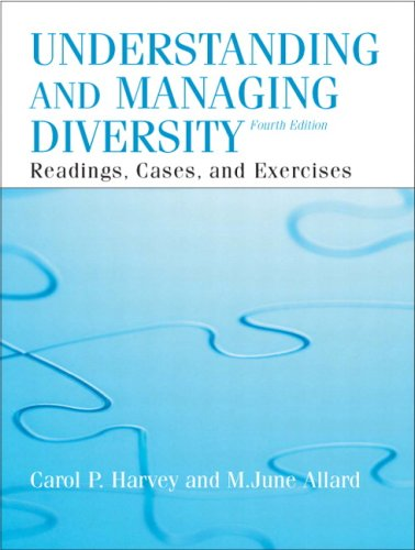 9780132069106: Understanding and Managing Diversity (4th Edition)