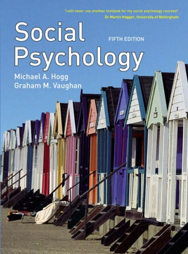 9780132069311: Social Psychology