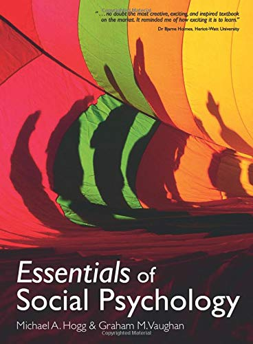 9780132069328: Essentials of Social Psychology