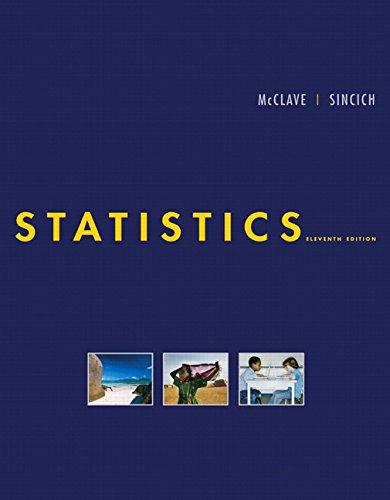 9780132069519: Statistics, 11th Edition (Book & CD)
