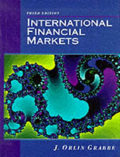 9780132069885: International Financial Markets, 3rd Edition