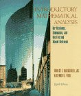 Introductory Mathematical Analysis for Business, Economics, and: Ernest F. Haeussler,