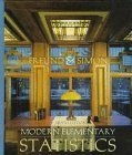 9780132070102: Modern Elementary Statistics