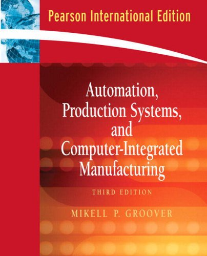 9780132070737: Automation, Production Systems, and Computer-Integrated Manufacturing: Automation, Production Systems, and Computer-Integrated Manufacturing International Version