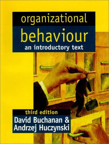 9780132072595: Organizational Behaviour: An Introductory Text (3rd Edition)