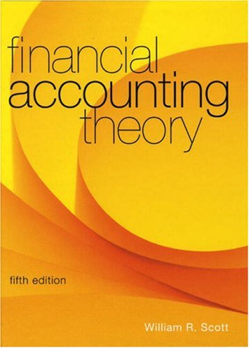9780132072861: Financial Accounting Theory (5th Edition)