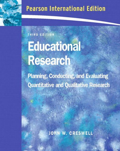 9780132073080: Educational Research