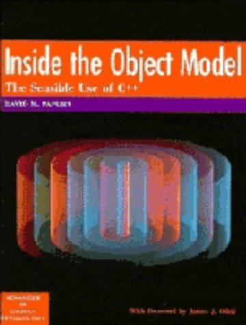 9780132073660: Inside the Object Model: The Sensible Use of C++ (SIGS: Advances in Object Technology)