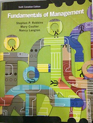 9780132074612: Fundamentals of Management