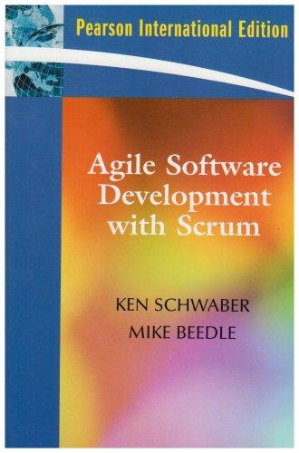 9780132074896: Agile Software Development with SCRUM:International Edition