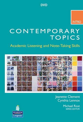 9780132075183: Contemporary Topics Intro: Academic Listening and Note-Taking Skills