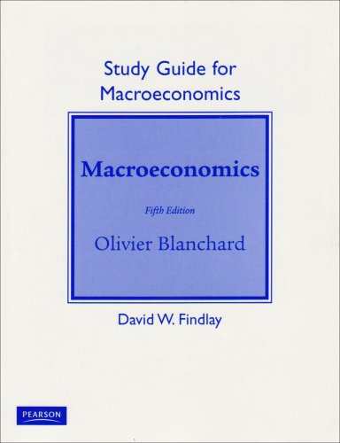 9780132078337: Study Guide for Macroeconomics