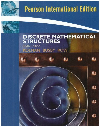 9780132078450: Discrete Mathematical Structures