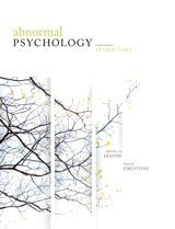 9780132080019: Abnormal Psychology Fourth Edition Perspectives