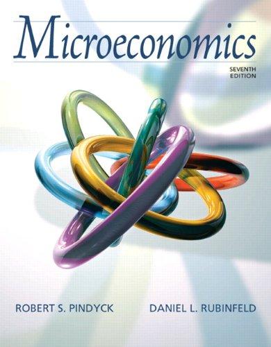 9780132080231: Microeconomics (7th Edition)
