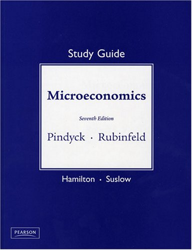 9780132080248: Study Guide for Microeconomics