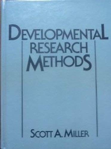 9780132081337: Developmental Research Methods