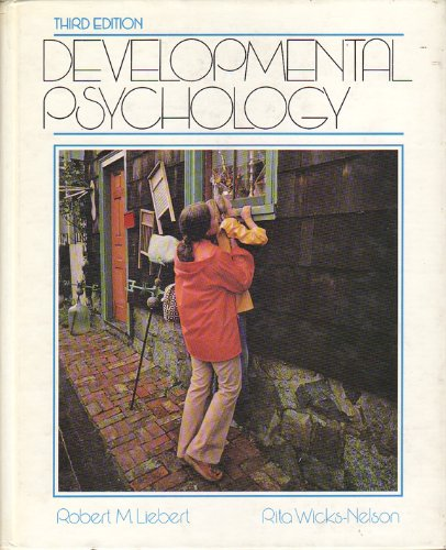 9780132082563: Developmental Psychology