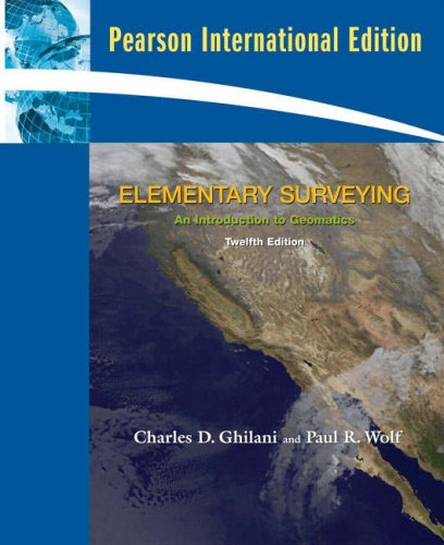 9780132083072: Elementary Surveying: An Introduction to Geomatics