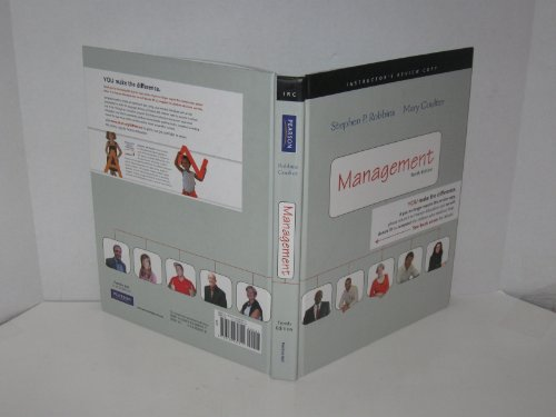 9780132084611: Management: Instructor's Review Copy, 10th Edition