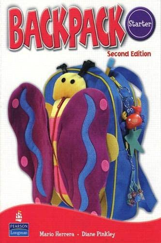 Backpack Starter Workbook with Audio CD Format: HERRERA & PINKLEY