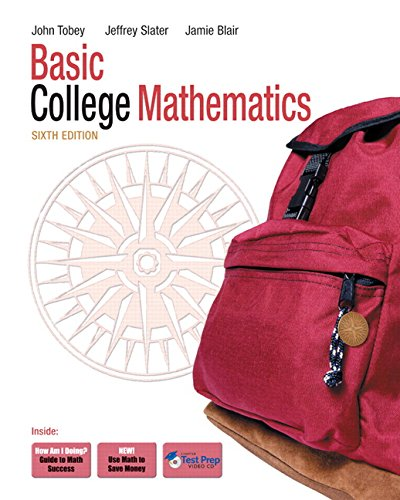 9780132085151: Basic College Mathematics (6th Edition)