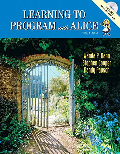 9780132085168: Learning To Program with Alice (2nd Edition)
