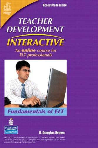 9780132086127: Teacher Development Interactive, Fundamentals of ELT, Student Access Card