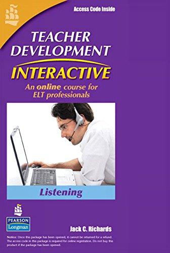 9780132086202: Teacher Development Interactive: Listening, Student Access Card