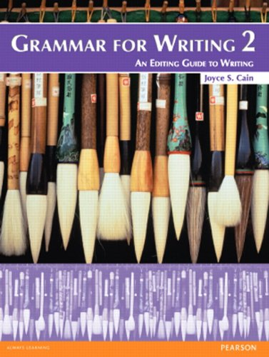 9780132088992: Grammar for Writing 2 (2nd Edition)