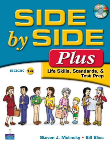 9780132090100: Side by Side Plus 1 Student Book A (with Gazette Audio CD)
