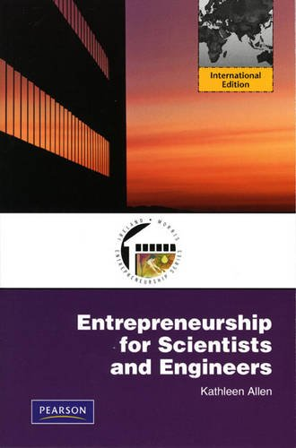 9780132091435: Entrepreneurship for Scientists and Engineers: International Edition
