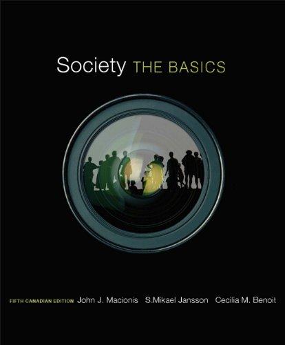 9780132091459: Society: The Basics, Fifth Canadian Edition (5th Edition)