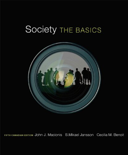 9780132091459: Society: The Basics, Fifth Canadian Edition (5th Edition)