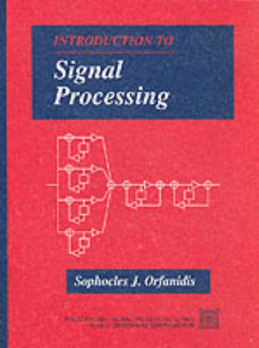 9780132091725: Introduction to Signal Processing (Pie)