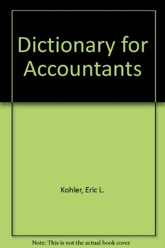 9780132098090: Dictionary for Accountants