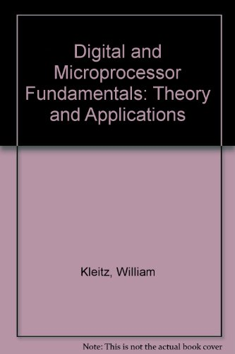 9780132098915: Digital & Microprocessor Fundamentals: Theory & Applications