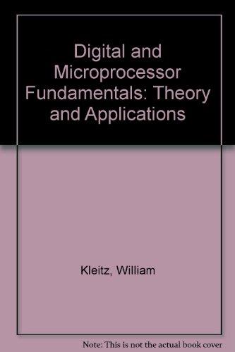 9780132098915: Digital & Microprocessor Fundamentals: Theory & Applications