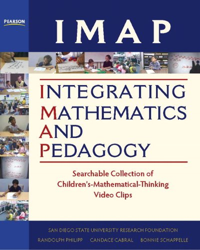 9780132098953: IMAP Integrating Mathematics and Pedagogy: Searchable Collection of Children's-Mathematical-Thinking Video Clips