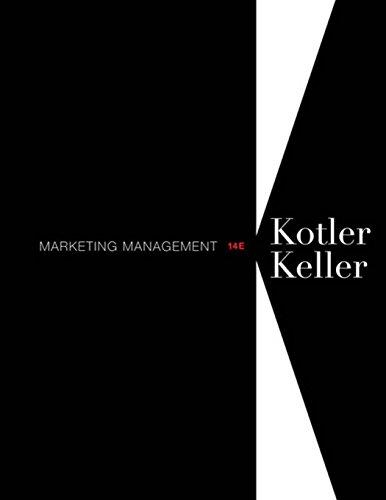 9780132102926: Marketing Management (14th Edition)