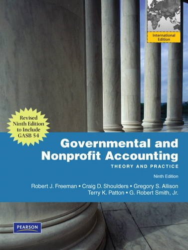 9780132106740: Governmental and Nonprofit Accounting: Theory and Practice, Update