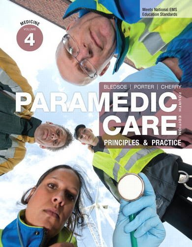 9780132109031: Paramedic Care: Principles & Practice, Volume 4: Medicine (4th Edition)