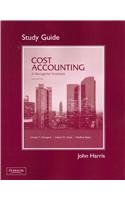 9780132109208: Student Study Guide for Cost Accounting