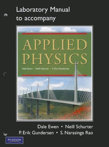 9780132109277: Lab Manual for Applied Physics