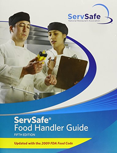 9780132109826: ServSafe Food Handler Guide 5th Edition Update (10 Pack) (5th Edition)