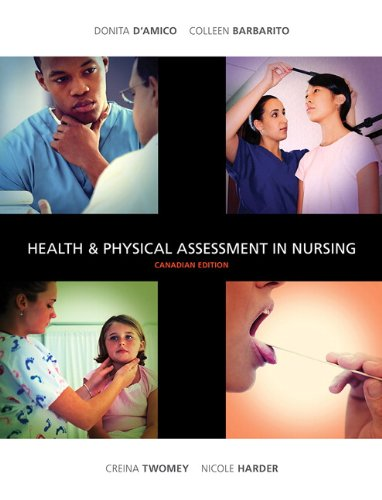 9780132110655: Health &Physical Assessment in Nursing, Canadian Edition
