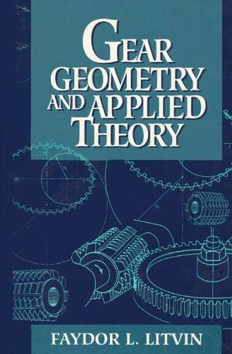 9780132110952: Gear Geometry and Applied Theory